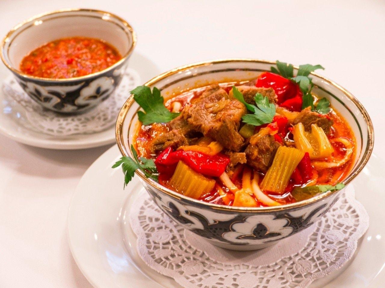 Узбекский лагман рецепт с фото в домашних условиях